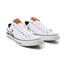0f7b9dc26b7a7 Converse Chuck Taylor All Star Lo Looney Tunes Pepe Le Pew Sneaker - White  - 399527