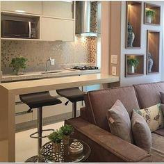 Construindo Minha Casa Clean: Revestimento para Parede da Pia e do Fogão - Veja Ideias para Cozinha!