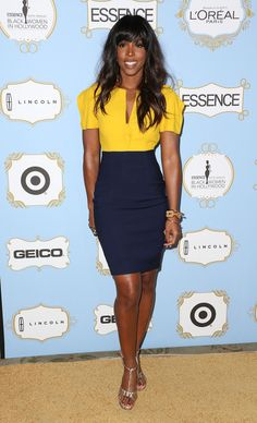 4. Kelly Rowland At The ESSENCE Black Women In Hollywood Awards Luncheon | The Most Fab And Drab Celebrity Outfits Of TheWeek