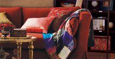Living Room Elegance with #WorldMarket's Venetian Bazaar Collection