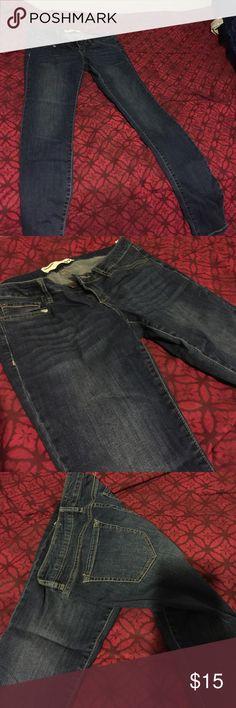 Garage dark denim jeans Only wore once. Dark denim, no stains. Straight legs HOT SALE Garage Jeans Straight Leg