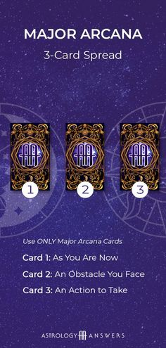 To unlock the maximum potential of your Tarot deck, you must learn to ask the right questions. In today's article, check out Astrology Answers' top 5 Tarot spreads and how to use them. 3 Card Tarot Spread, Tarot Card Spreads, Major Arcana Cards, Tarot Major Arcana, Izu, Kitchen Witch, Tarot Significado, Online Tarot, Tarot Cards Online