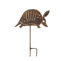 Armadillo Lawn Sculpture, $30, by Von Chandler