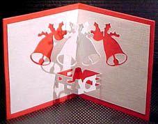 Pour fêter Pâques voici un nouveau modèle de kirigami gratuit à réaliser représentant deux cloches! Un modèle sympa à réaliser!! Gabarit gratuit kirigami pâques à retrouver ici Bonne création!!