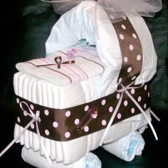 Bedding Crib - Great for Baby Showers!