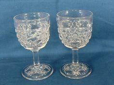 Diana glass. -2 stk vinglass Diana (Solgt ) Pris kr 500 pr stk.