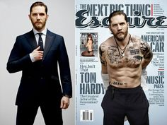 Brawny, Bearded Tom Hardy Doesn't Feel Very Manly