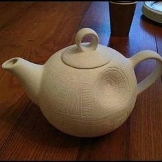 star wars tea pot