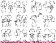 Wedding Stick Figure Clipart Clip Art Wedding Clip by PinkPueblo - Image Editing - Edit image online tool. - Wedding Stick Figure Clipart Clip Art Wedding Clip by PinkPueblo Art Clipart, Adobe Illustrator, Wedding Clip, Free Wedding, Clip Art, Stick Figures, Creative Sketches, Creative Design, Tatoo