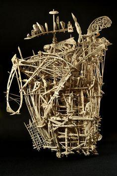 Francesco Toris.  Bone sculpture
