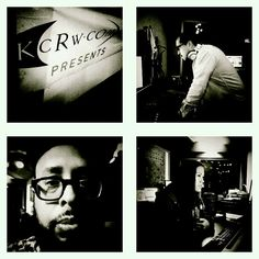 Stopped back in at @Kcrw studio, hanging w/ my dude @MarioCotto during his set while @TarynOlsen works the playlist & phones. #kcrw