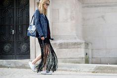 StyleAndMinimalism   Street Style   Paris Fashion Week   Pernille Teisbaek Photographed by Tyler Joe