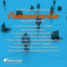 #TipsMicrosip 5 tips para mejorar la comunicación en tu empresa