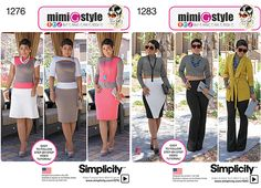 My Simplicity Patterns Online + Video Tutorials and Fabric Links! - Mimi G Style