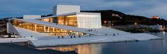 Oslo Opera House - if you're ever in Oslo, you have to see this building!