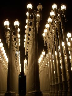 """Urban Light"" by Chris Burden"