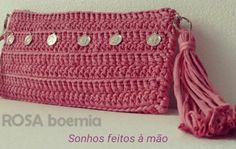 Delicadezas #boehmianstyle #crochetclutch
