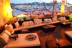 Our wedding venue chill out area @Villa Mercedes Ibiza