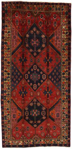 Bakhtiari - Lori Persian Carpet 335x158