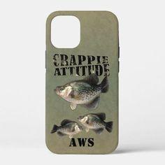 Crappie Attitude Fishing Case-Mate iPhone Case #crappie #fishing #attitude #casemate #phonecase #fishing Trick Pictures, Crappie Fishing Tips, Plastic Case, Attitude, Iphone Cases, Iphone Case, I Phone Cases