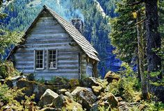 Cabin in the mountains..Dream home...right there.