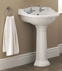 A Towel Ring Is Bathroom Clic Position It Next To The Basin For Practical
