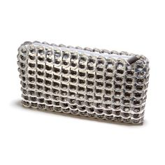 Chica Rosa Clutch Silver now featured on Fab.