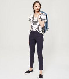 $69.50 LOFT Primary Image of Essential Skinny Ankle Pants in Julie Fit