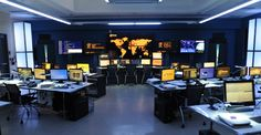 Re-creation of the Norton Security Operations Center for Cybergeddon - Cybergeddon: Pictures from the digital crime thriller