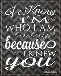 """Wicked Quote - I Know I'm Who I am Today """"For Good"""" INSTANT DOWNLOAD Printable Moving Friendship Friend Coach Teacher Gift Wall Art Musical on Etsy, $3.98"""