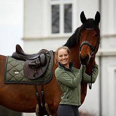 Have a great sunday!  @miraaams ...Softshell jacket: Olive Saddle pad: Spring Olive  #equestrianstockholm#horse#horses#equestrianperformance