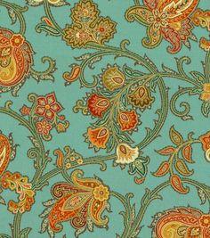 Home Decor 8''x 8'' Fabric Swatch Print Fabric-Waverly Tennyson Harvest