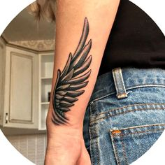 Dope Tattoos, Body Art Tattoos, Sleeve Tattoos, Tattoos For Guys, Tattoos For Women, Tattos, Wing Tattoo Arm, Forearm Tattoo Men, Arm Band Tattoo