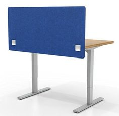 Acoustic Partition, Sound Absorbing Desk Divider – W x Privacy Desk Mounted Cubicle Panel, Cobalt Blue - iDivide Modern Room Dividers & Office Partitions Office Dividers, Office Partitions, Room Dividers, Office Workstations, Privacy Walls, Sound Absorbing, Acoustic Panels, Cubicle, Modern Room