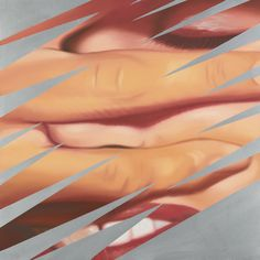 James Rosenquist (American, b. 1933), Untitled, 1983. Oil on canvas mounted on panel, 36 x 36 in.
