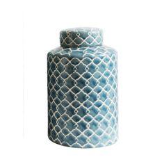 Ceramic Jars, Ceramic Table, Ceramic Decor, Decorative Accessories, Decorative Items, Decorative Pillows, Quatrefoil Pattern, Decorated Jars, Ginger Jars
