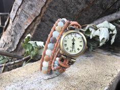 Montre bracelets pour femme boho cadran bronze pierres Wood Watch, Bronze, Bracelets, Accessories, Etsy, Bracelet Watch, Stones, Wristwatches, Unique Jewelry
