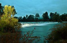 Una river by Angelica, Bihać, Bosnia-Herzegovina, Una National Park