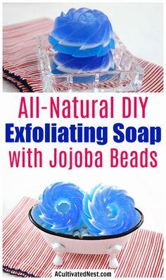 All-Natural DIY Exfoliating Soap