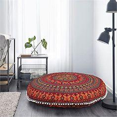 """De nuestros modelos más vendidos """"TOOT"""". Perfecto y cómodo para cualquier espacio. Large Floor Cushions, Round Floor Pillow, Bed Cushions, Round Pillow, Floor Pillows, Cushion Pillow, Pillow Cases, Meditation Room Decor, Meditation Cushion"""
