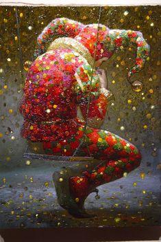 """Narren"". Kanske målad av Victor Nizovtsev."