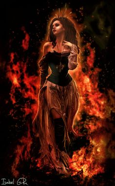Through the Fire and Flames by XangelinfinityX.deviantart.com on @deviantART