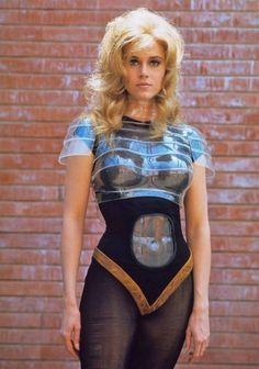 Retro-Future Sci-Fi Girl Jane Fonda, Barbarella
