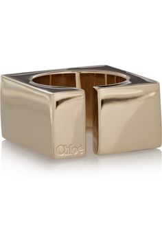 Chloé|Raquel gold-tone ring