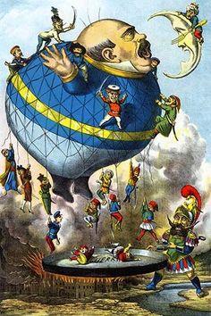 Italian Balloon Cartoon