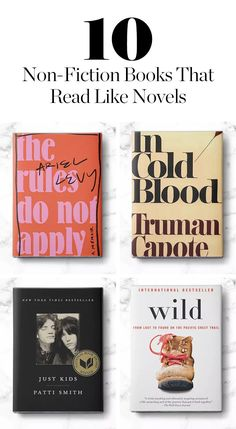 Here are our 10 favorite non-fiction books that read like novels.