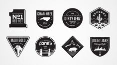 Dribbble JJ_BADGES.jpg by Matt Stevens in Badge Hunting