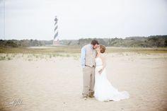 Sarah D'Ambra Photography- Outer Banks, NC wedding photographer sarahdambra.com Cape Hatteras Lighthouse