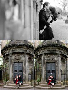 engagement photos form Scotland