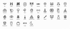 Vector icons pack - Vector icons for iOS 7 / 8 & android